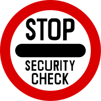 Stop. Security check