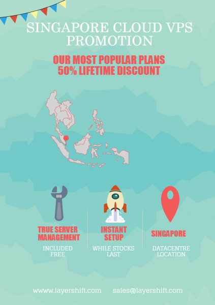 Singapore Cloud VPS offer