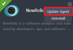 New Relic update on Jelastic