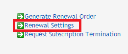 .uk domain renewal settings